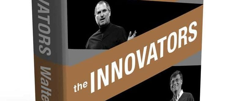 A book titled The Innovators.