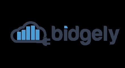 Bidgely logo.
