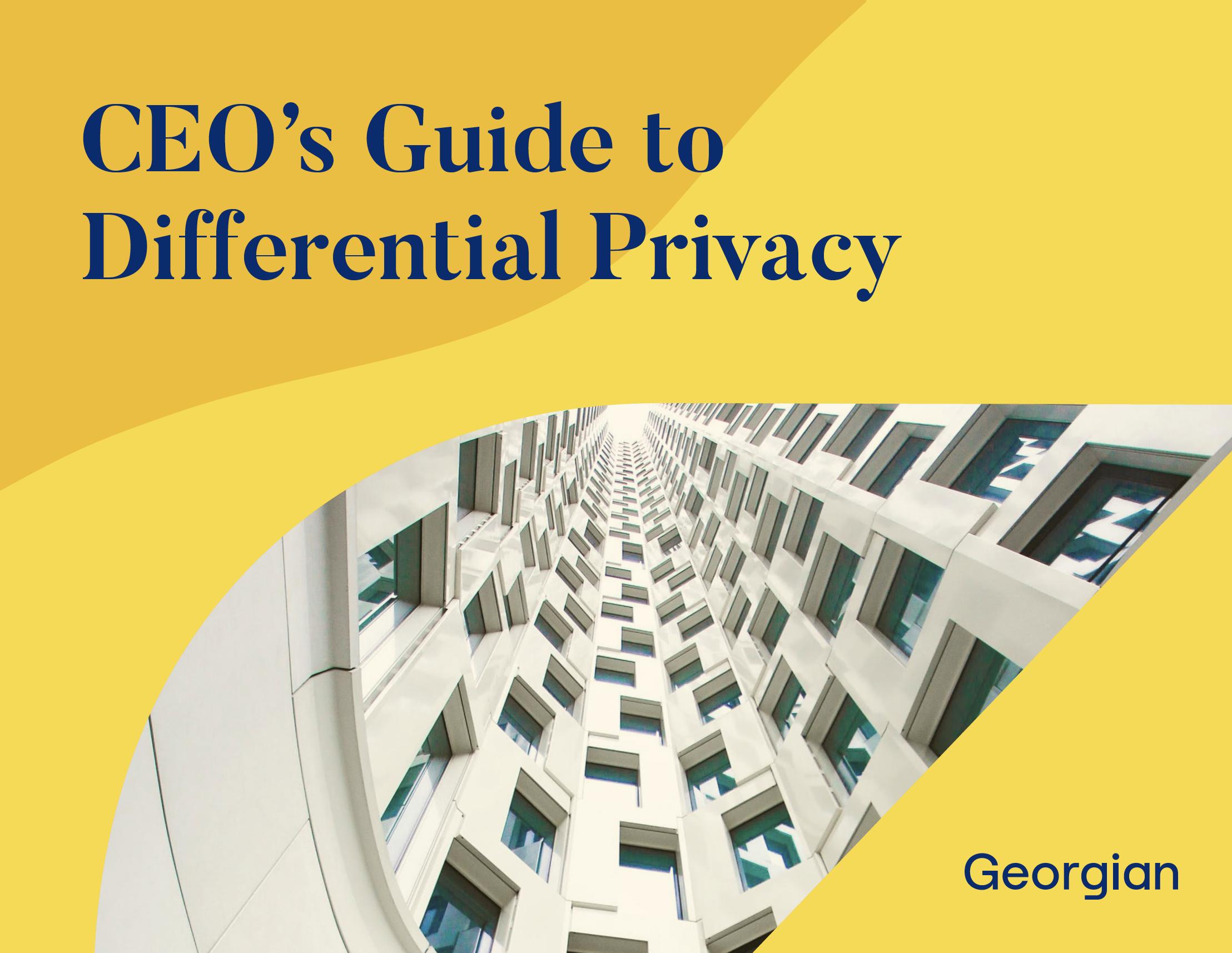C E O's Guide to Differential Privacy. Georgian.