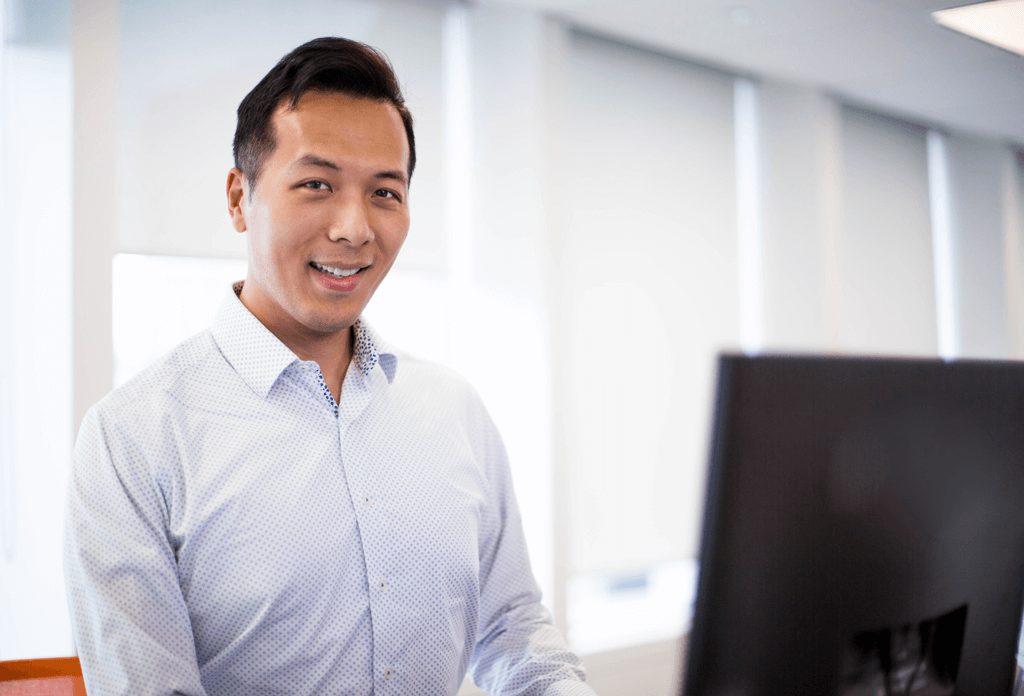 A photograph of David Vuong.