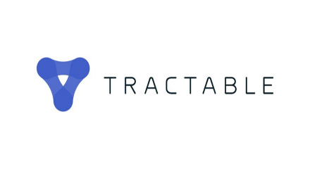 Tractable with logo.