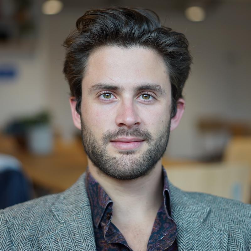 A photograph of Alex Dalyac.