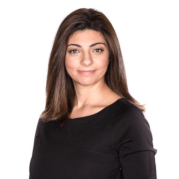A photograph of Rana el Kaliouby.