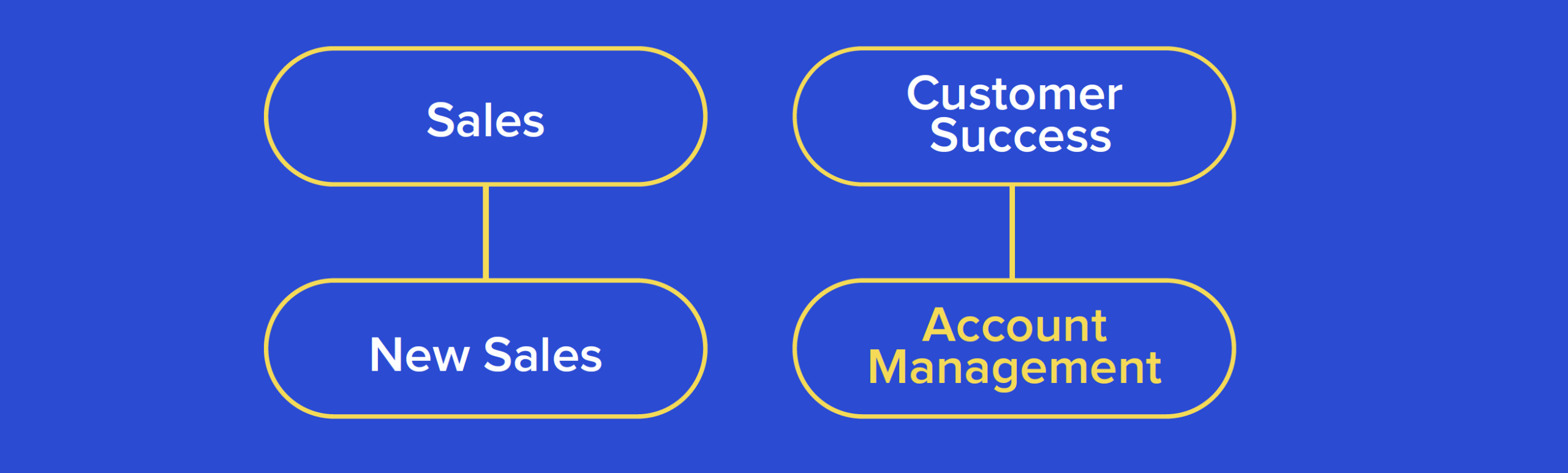 Org Structure  with Account Management under Customer Success